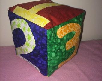 Number baby blocks