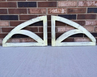 Dual Arched Decorative Wall Hanging