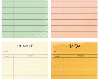 Simple Stories Carpe Diem The Reset Girl 2 x 3 Sticky Notes - Four Designs