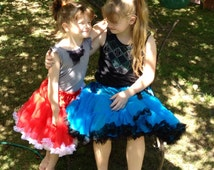 Deposit for Custom 3 tier Pettiskirt/tutu. Choose up to 2 colours.  Ages 0-12 years.