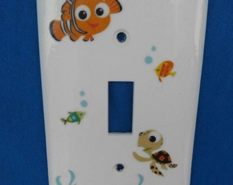 Finding nemo lightswitch cover