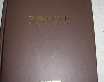 zenith watches, the collection book