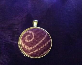 Kokadi sally wrap scrap necklace pendant