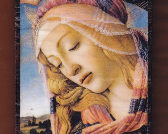 The Madonna of the Magnificat, 1483-85, Sandro Botticelli.FREE SHIPPING