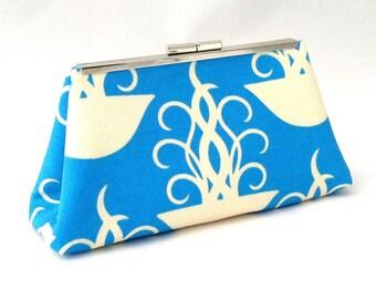 Blue Purse ~ Blue Jelly Fish Handbag