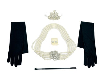 Jewelry and Accessory Set from Audrey Hepburn Breakfast at Tiffany's