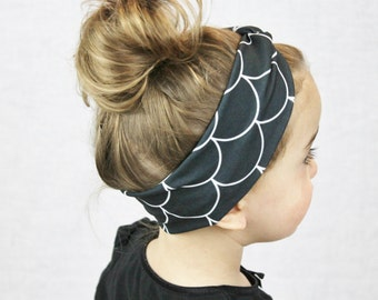 Turban headband - Turban Headbands for babies - baby turban headband - baby headband - baby girl headband - sister gift - accessories