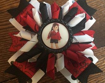 American Girl Doll Korker Hair Bow