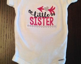 Little Sister Bodysuit/ Onesie