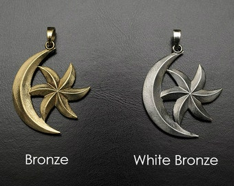 Moon-and-Star pendant insired by The Elder Scrolls III: Morrowind game