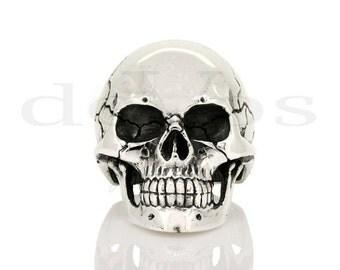 Large Full Skull Ring