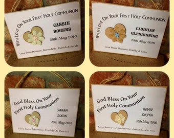 First Holy Communion Plaque / Sign