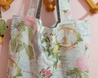 Market tote,Fabric tote bag, Eco bag.