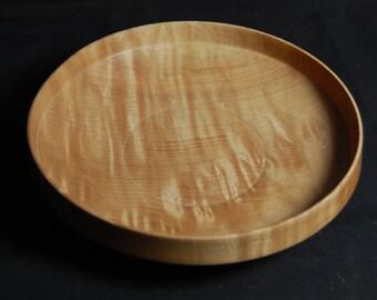 Fiddleback maple bowl