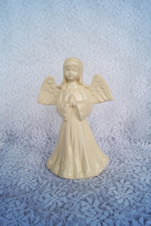 Sale Vintage Ceramic Angel Girl Figurine Statue For Holidays