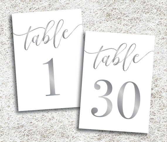 Accomplished image pertaining to free table number printable