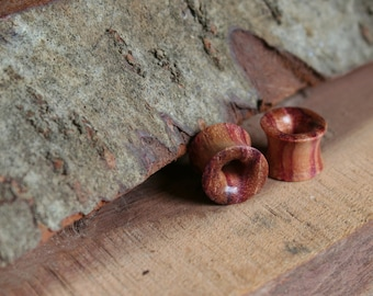 2 x wooden tunnel from Bahia rosewood 10 mm