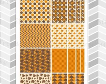 "Autumn Mood ""Washi"" [Planner Stickers]"