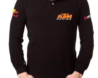 Ktm t shirt motorcycle shirt, long sleeves