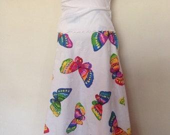 1970's Butterfly Skirt
