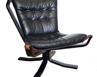 Falcon Chair Sigurd Ressel for Vatne Møbler, 1970s, mid century, lounge chair