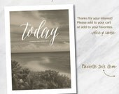 TODAY... 8.5x11 Planner cover page download. Vintage Florida.