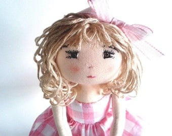 Rag doll sewing pattern – Instand PDF download in english - Number 3