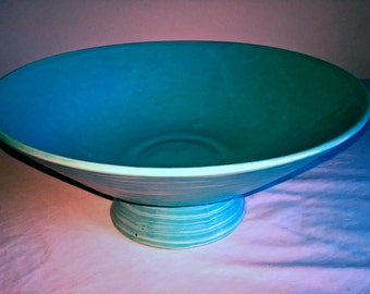Blue Ceramic Bowl