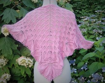 Perfectly Pink Shawl