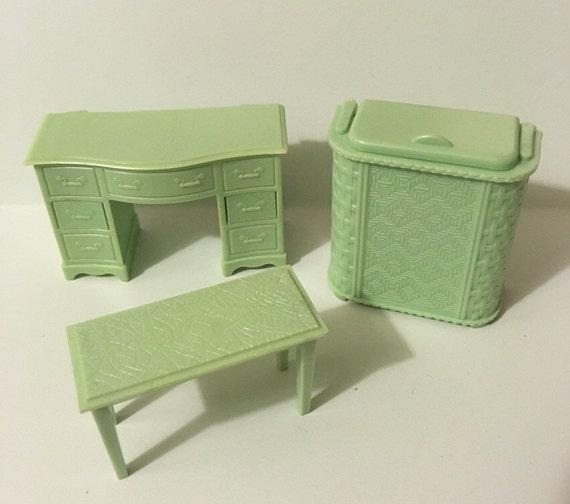 Renwal Dollhouse Furniture Hamper Desk By Margosmaddness On Etsy