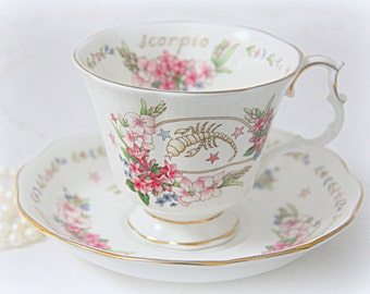Vintage Royal Albert Zodiac Series