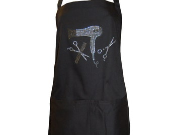 Bling Hair Apron with Bandanna