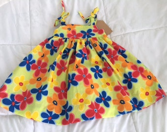 bright, floral print sundress for toddler