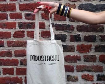 """Tote Bag """"Mustache"""""""
