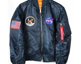 Apollo 11 NASA MA-1 Bomber Jacket