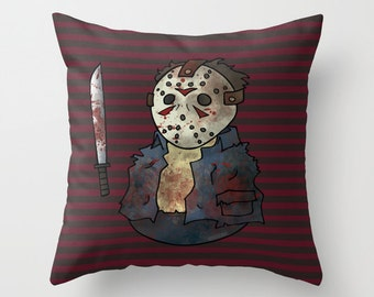 Jason Pillow / Halloween Pillow / Halloween Pillow
