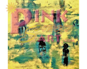 Past Present Future (Print With out PinkStreet Art Watermark)-print-Alzheimers-digital- abstract art