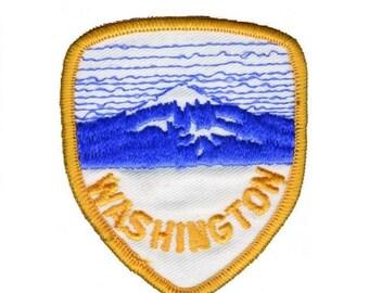 Vintage Washington State Patch - Mt. Rainier