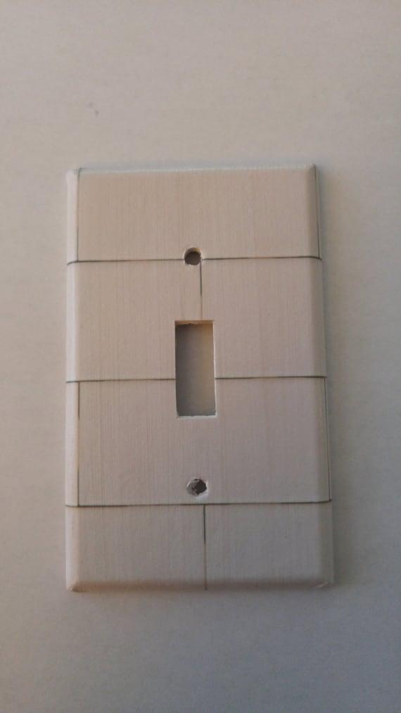 Subway Tile Backsplash Kitchen Light Switch by TheOlSwitcheroo