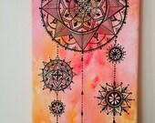 Mandala picture,mandala art,mandala painting,spiritual art,hand painted mandala,love and light,mandala picture,spiritual,art,positive intent