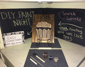 Paint Night On the Go!- Everything Included