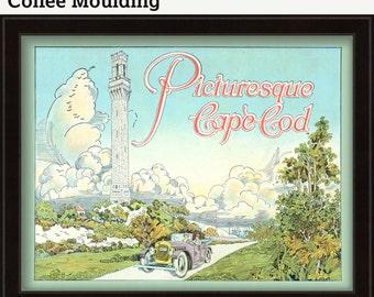 Cape Cod Travel Poster circa 1920's