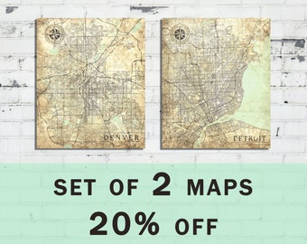 Limited offer! 2 MAPS -20% off DISCOUNT! Special Offer / Sale
