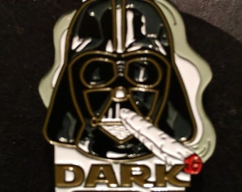 Come to the dark side hat pin