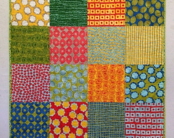 Malka Dubrawsky Baby Quilt
