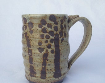 Handmade Ceramic Mug, Coffee Mug, Beer mug, 14 oz BMG4