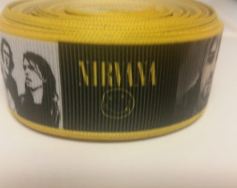 Nirvana 1 inch Ribbon by the yard