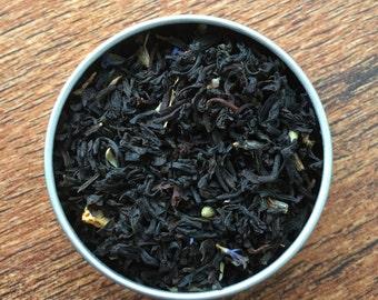 London Fog Custom Loose Leaf Tea Blend - Earl Grey - Vanilla - Creme - Lavender - Black Tea