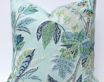 Kravet Ishana Pillow Cover - Sapphire