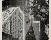 Strand Hotel, 206 West 43rd Street, New York City...Vintage Postcard from the 1940's...39 Steps west of Times Square...